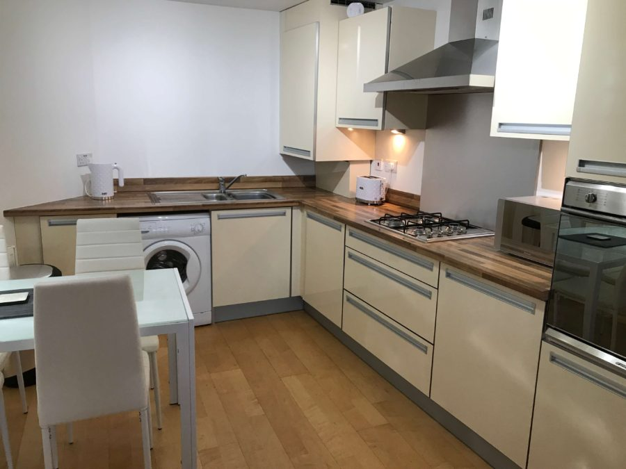 Kitchen Apartment Glasgow