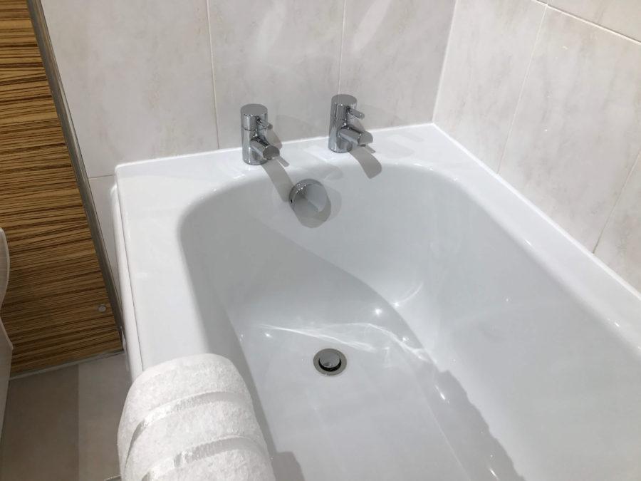modern bath and taps