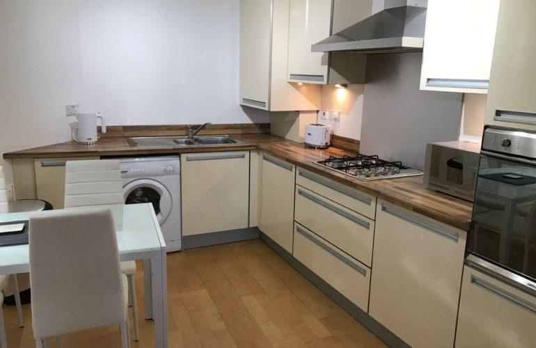Kitchen Apartment Glasgow